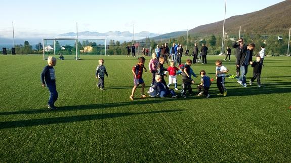 Fotballtrening for de minste